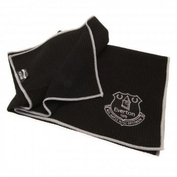 Everton Aqua-Lock Caddy Golf Towel